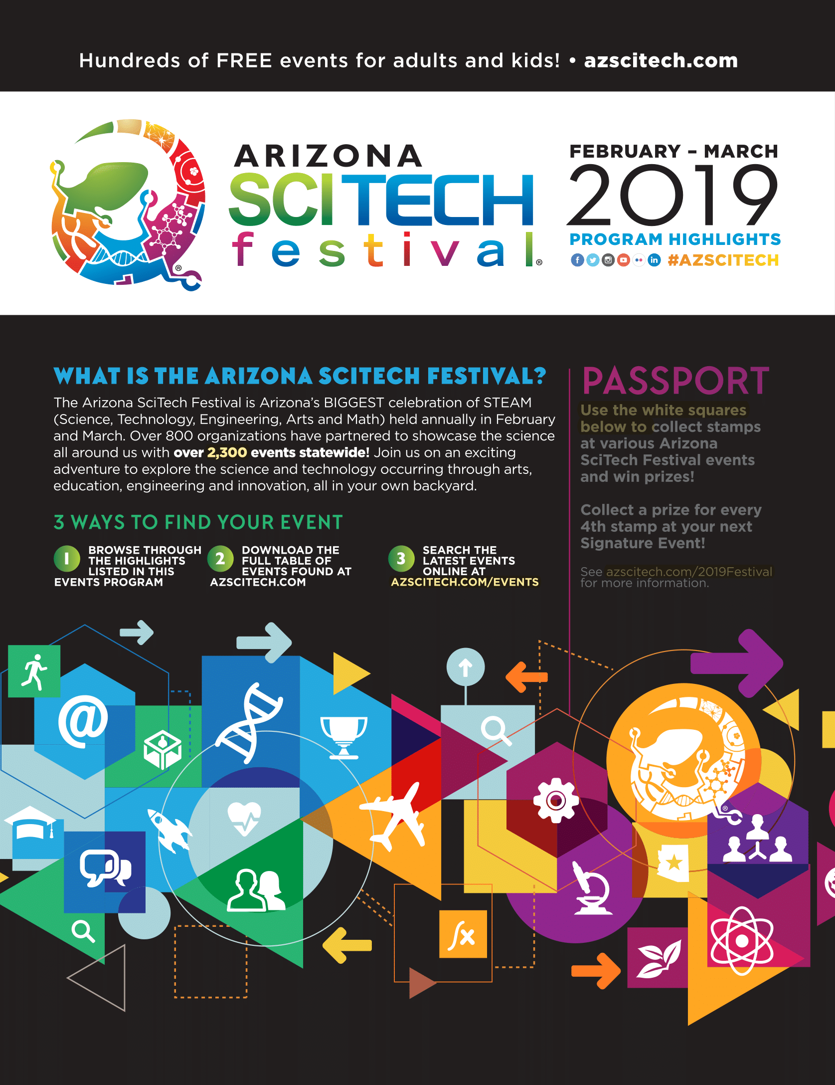 AZ SciTech Festival Program Cover